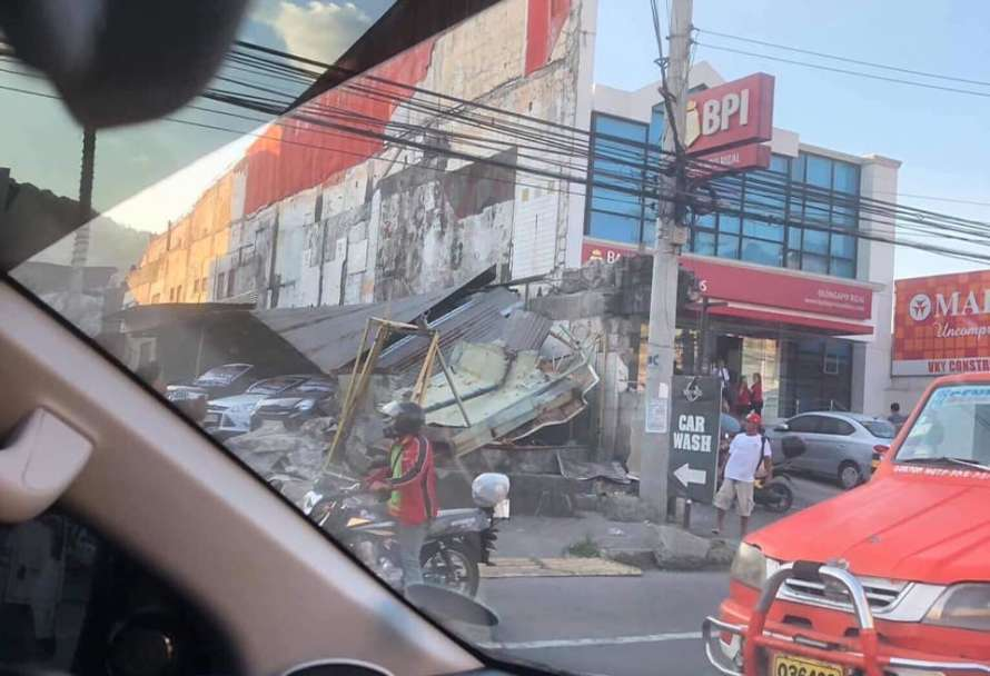 Several people in the Philippines died after earthquakes